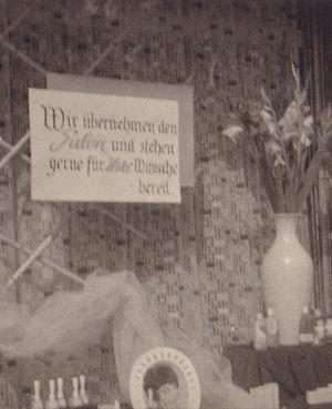 Eröffnung Friseur Winterberg 1959