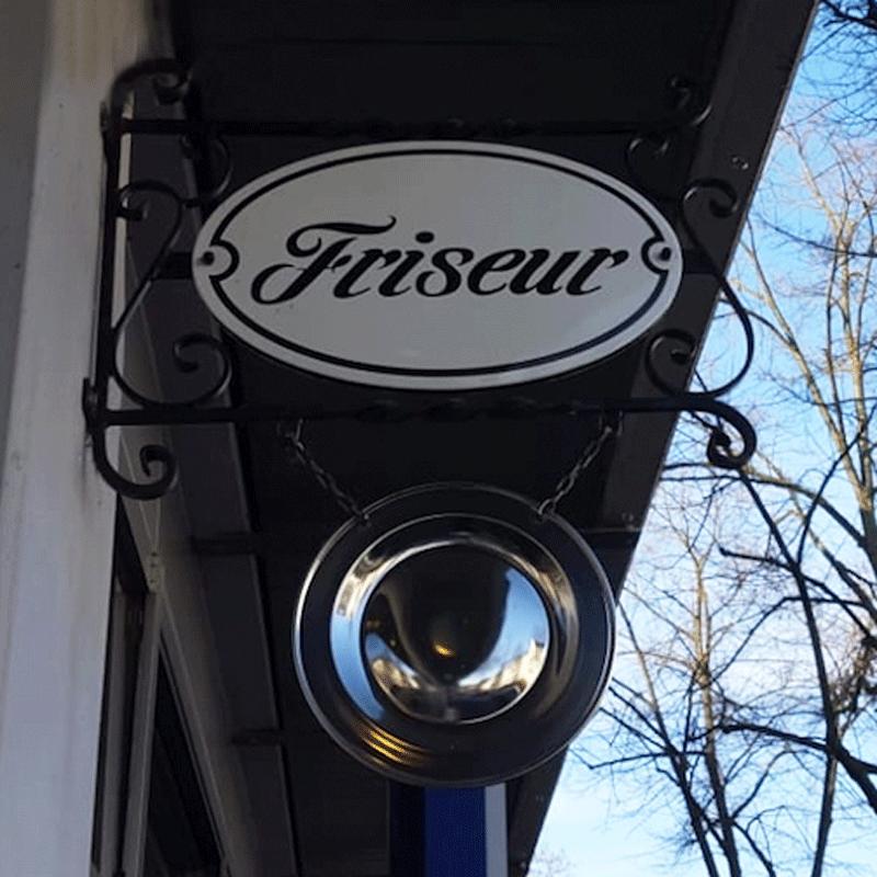 Friseur Winterberg GmbH |Schild Friseur